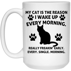 My Cat Is The Reason - Mugs Rescuers Club