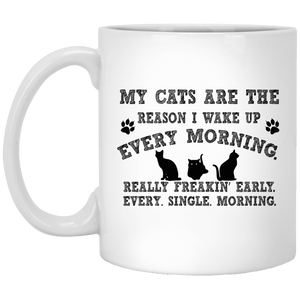 My Cats Are The Reason - Mugs Rescuers Club
