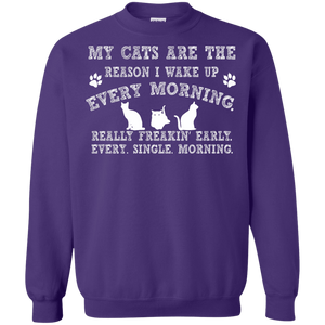 My Cats Are The Reason - Sweatshirt Rescuers Club