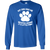 Load image into Gallery viewer, My Dog Has Me Wrapped Around It's Little Paw - Long Sleeve T Shirt Rescuers Club