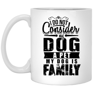 My Dog Is Family - Mugs Rescuers Club