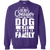 Load image into Gallery viewer, My Dog Is Family - Sweatshirt Rescuers Club
