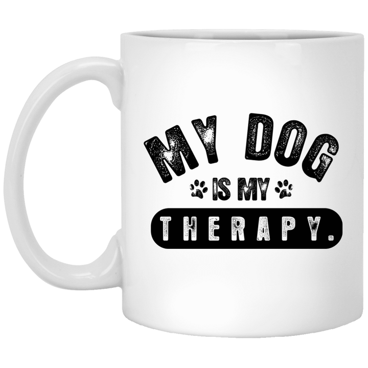 My Dog Is My Therapy - Mugs Rescuers Club