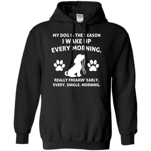 My Dog Is The Reason - Hoodie Rescuers Club