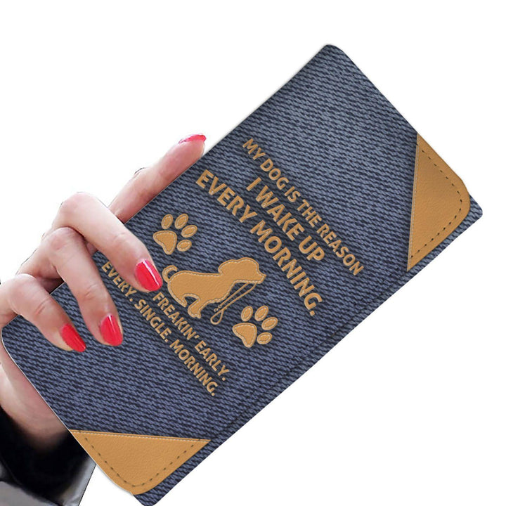 My Dog Is The Reason - Ladies Wallet/Purse Rescuers Club