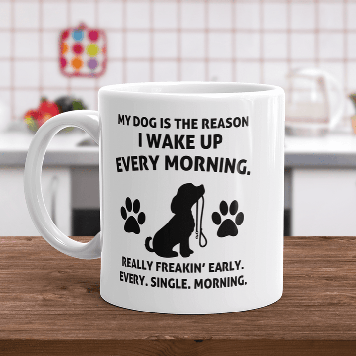My Dog Is The Reason - Mugs Rescuers Club