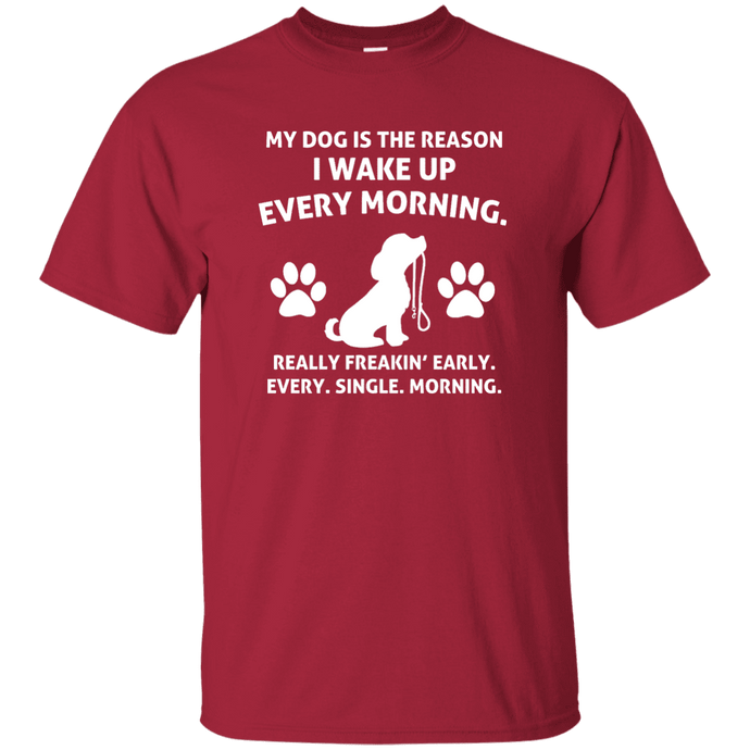 My Dog Is The Reason- - T Shirt Rescuers Club