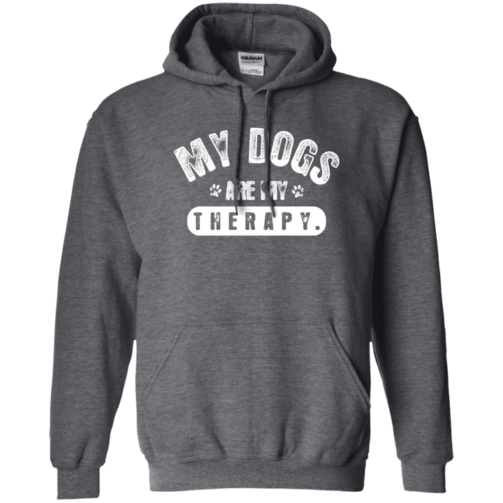 My Dogs Are My Therapy - Hoodie Rescuers Club