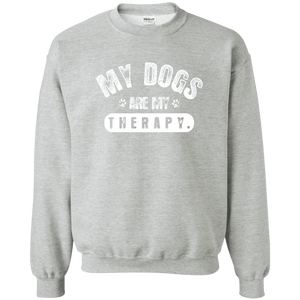 My Dogs Are My Therapy - Sweatshirt Rescuers Club