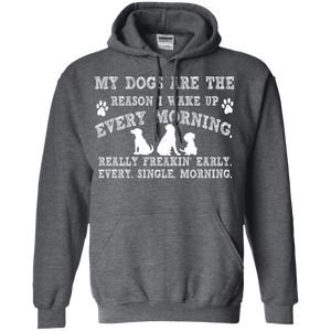 My Dogs Are The Reason - Hoodie Rescuers Club
