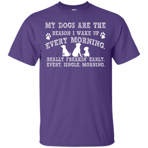 My Dogs Are The Reason - T Shirt Rescuers Club