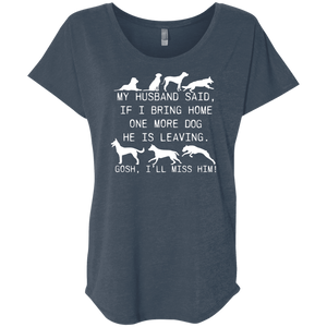 My Husband Said Dog - Slouchy Tee Rescuers Club