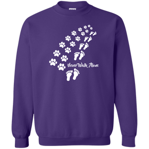 Never Walk Alone - Sweatshirt Rescuers Club