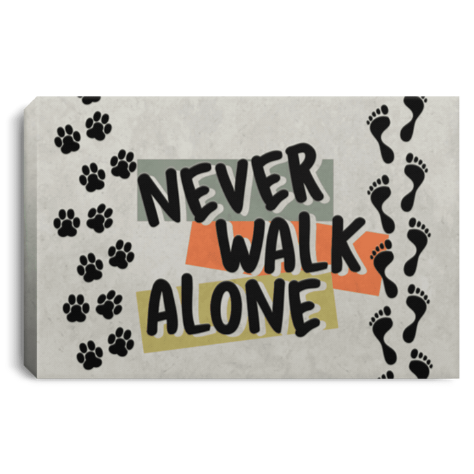 Never Walk Alone - Wall Canvas Rescuers Club