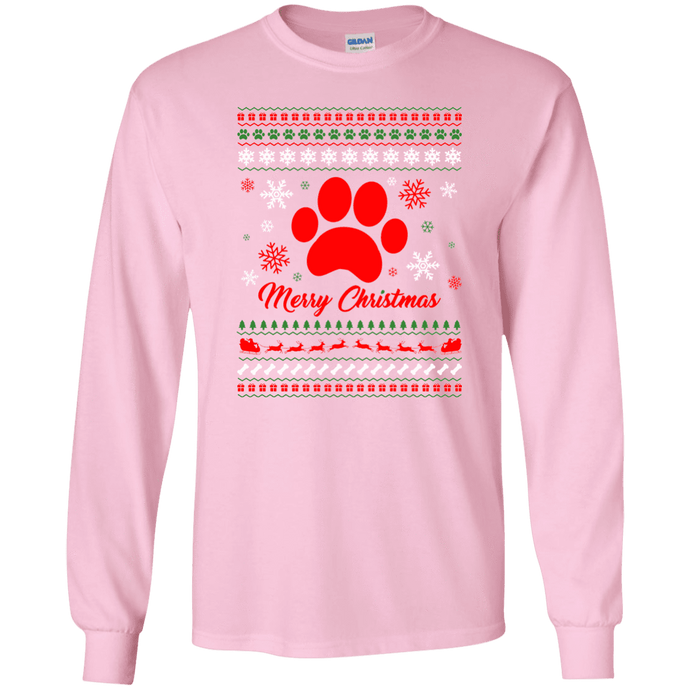 Nordic Christmas - Long Sleeve T Shirt Rescuers Club