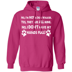 Not A Dog Walker - Hoodie Rescuers Club