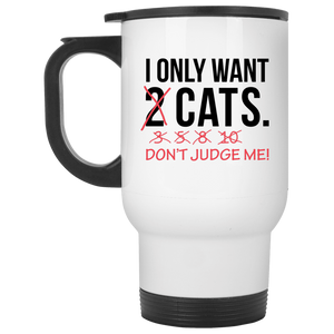 Only Want Cats - Mugs Rescuers Club