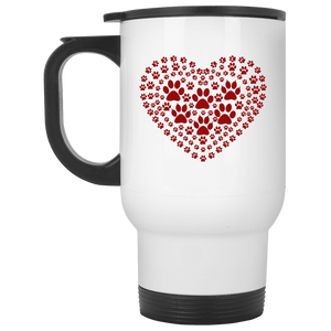 Pawprint Heart - Mugs Rescuers Club
