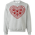 Load image into Gallery viewer, Pawprint Heart - Sweatshirt Rescuers Club
