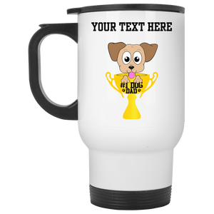 Personalized #1 Dog Dad - Mugs Rescuers Club