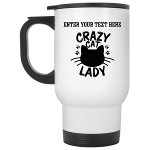 Personalized Crazy Cat Lady - Mugs Rescuers Club