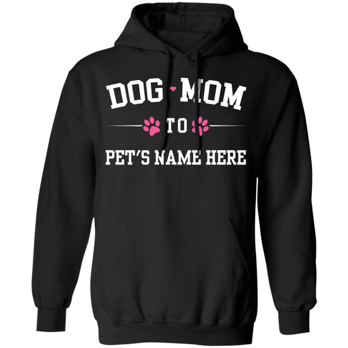 Personalized Dog Mom To - Hoodie Rescuers Club