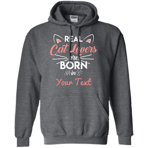 Personalized Real Cat Lovers - Hoodie Rescuers Club
