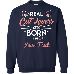 Personalized Real Cat Lovers - Sweatshirt Rescuers Club