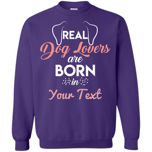 Personalized Real Dog Lovers - Sweatshirt Rescuers Club