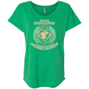 Power Of An Animal Rescuer - Slouchy Tee Rescuers Club