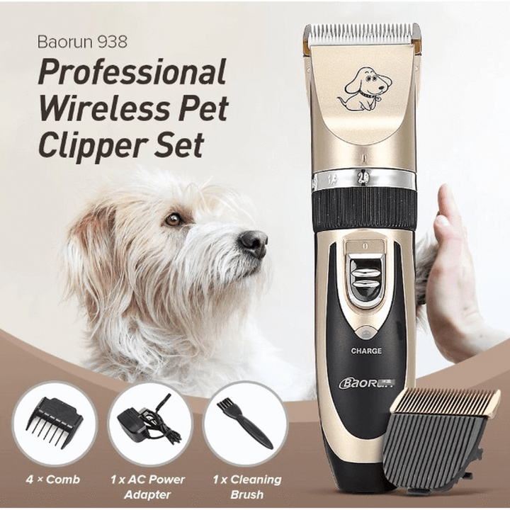 Professional Grooming Clippers Rescuers Club