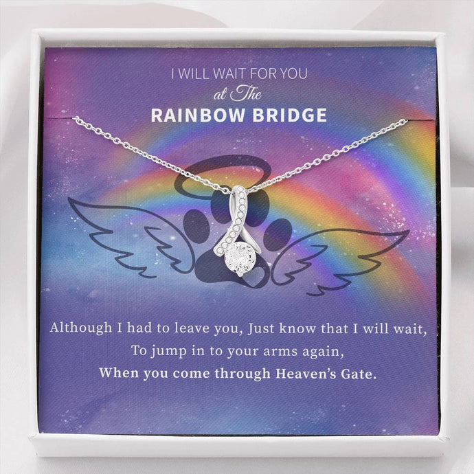Rainbow Bridge - Alluring Beauty Necklace Rescuers Club