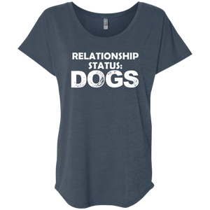 Relationship Status Dogs - Slouchy Tee Rescuers Club