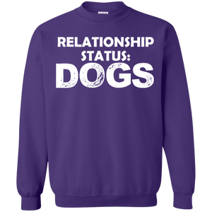Relationship Status Dogs - Sweatshirt Rescuers Club