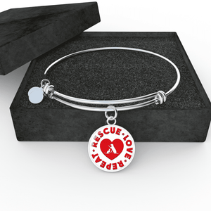 Rescue Love Repeat - Bangle Rescuers Club