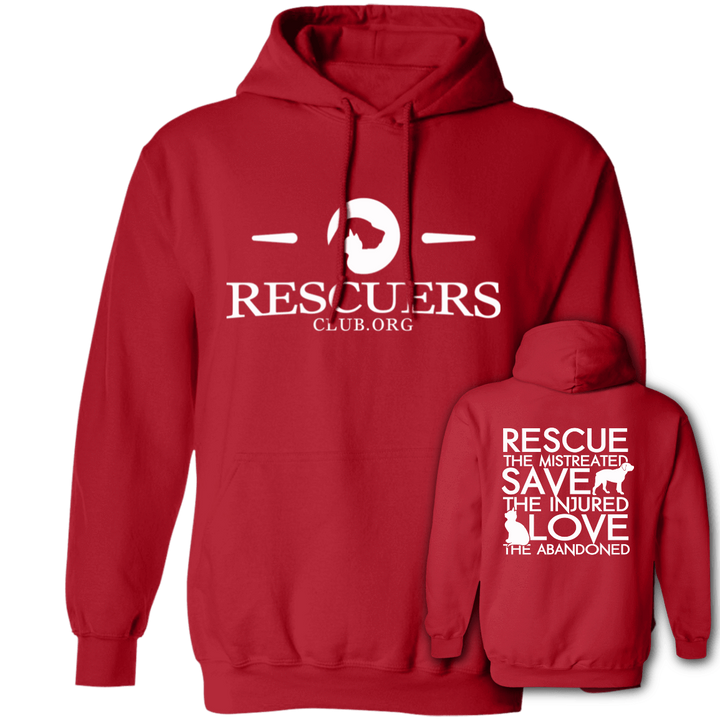 Rescue Save Love - Hoodie Rescuers Club