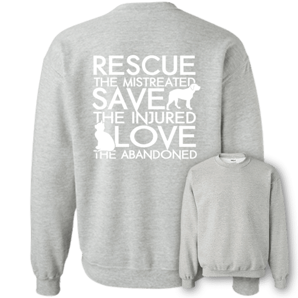 Rescue Save Love - Sweatshirt Rescuers Club
