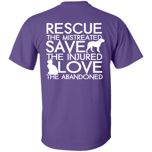 Rescue Save Love - T Shirt Rescuers Club