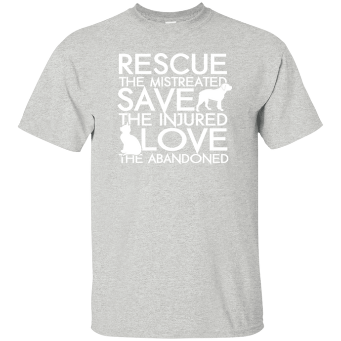 Rescue Save Love - Youth T Shirt Rescuers Club