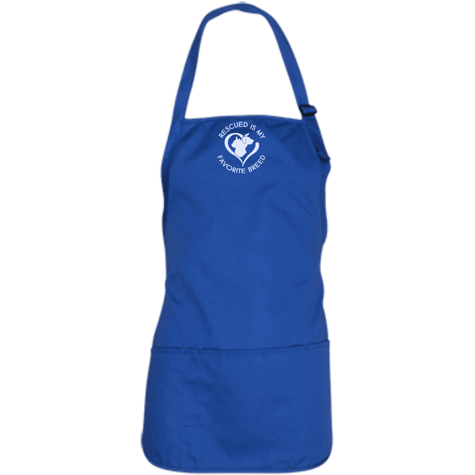 Rescued Is My Favorite Breed Apron Rescuers Club