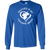 Load image into Gallery viewer, Rescued Is My Favorite Breed Logo - Long Sleeve T Shirt Rescuers Club