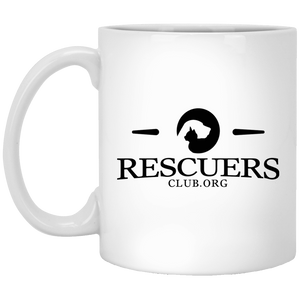 Rescuers Club Logo - Mugs Rescuers Club
