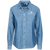 Load image into Gallery viewer, Rescuers Club Official Embroidered Ladies Denim Shirt Rescuers Club