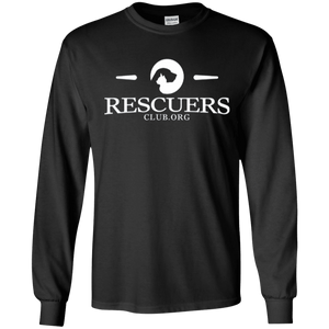 Rescuers Club Official Logo - Long Sleeve T Shirt Rescuers Club