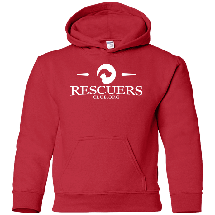 Rescuers Club Official Logo - Youth Hoodie Rescuers Club