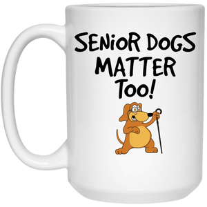 Senior Dogs Matter Too - Mugs Rescuers Club