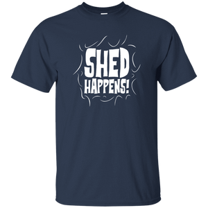 Shed Happens - T Shirt Rescuers Club