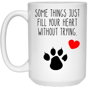 Some Things Just Fill Your Heart Cat - Mugs Rescuers Club