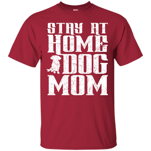 Stay At Home Dog Mom - T Shirt Rescuers Club