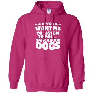 Talk About Dogs - Hoodie Rescuers Club